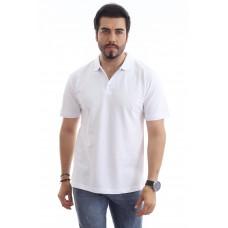 Erkek Polo Yaka T-shirt Beyaz