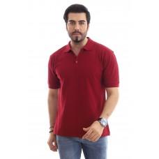 Erkek Polo Yaka T-shirt Bordo