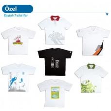 Baskılı erkek T-shirtler