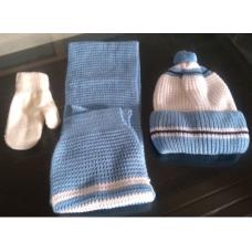Bebek atkı bere eldiven seti